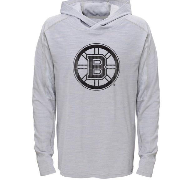 3d983d5bb Boston Bruins Boy s Lightweight Hoodie L 12 14